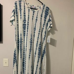 Lularoe XL Maria dress NWT